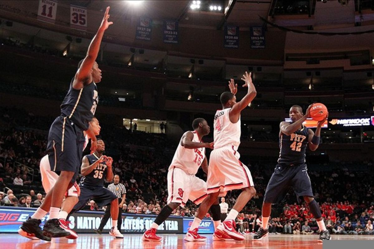 Better defense will mean happier nights for the Red Storm's returnees.