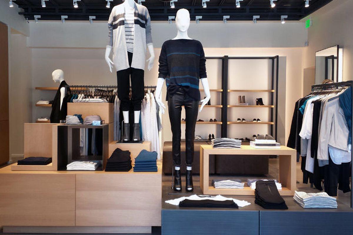 """Vince's <a href=""""http://la.racked.com/2014/8/8/7582529/danielle-tk-2"""">Pasadena</a> boutique."""