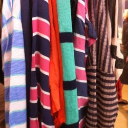 An abundance of stripes at this sale