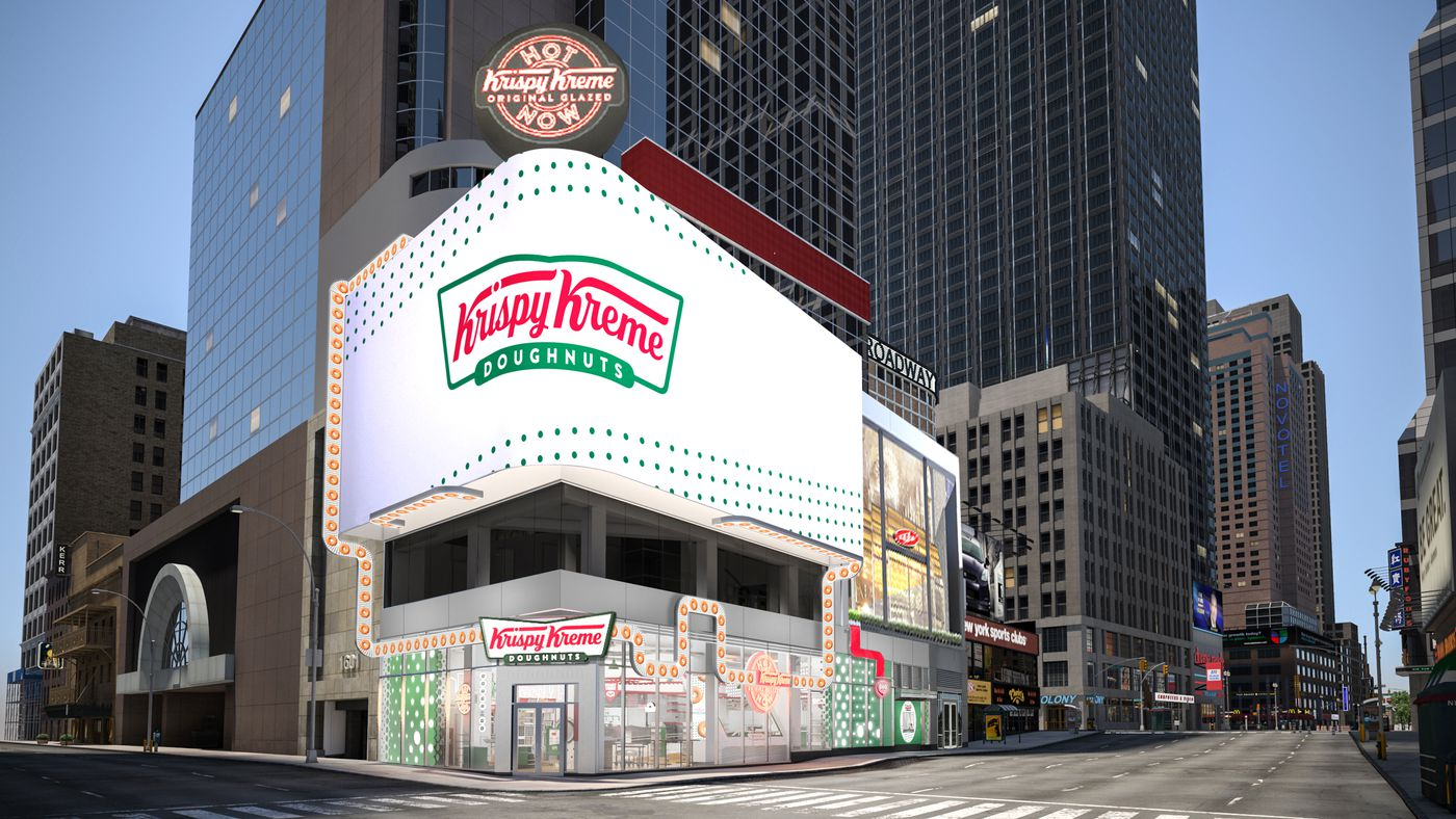 Krispy Kreme to Open New New York City Location in Times Square - Eater NY