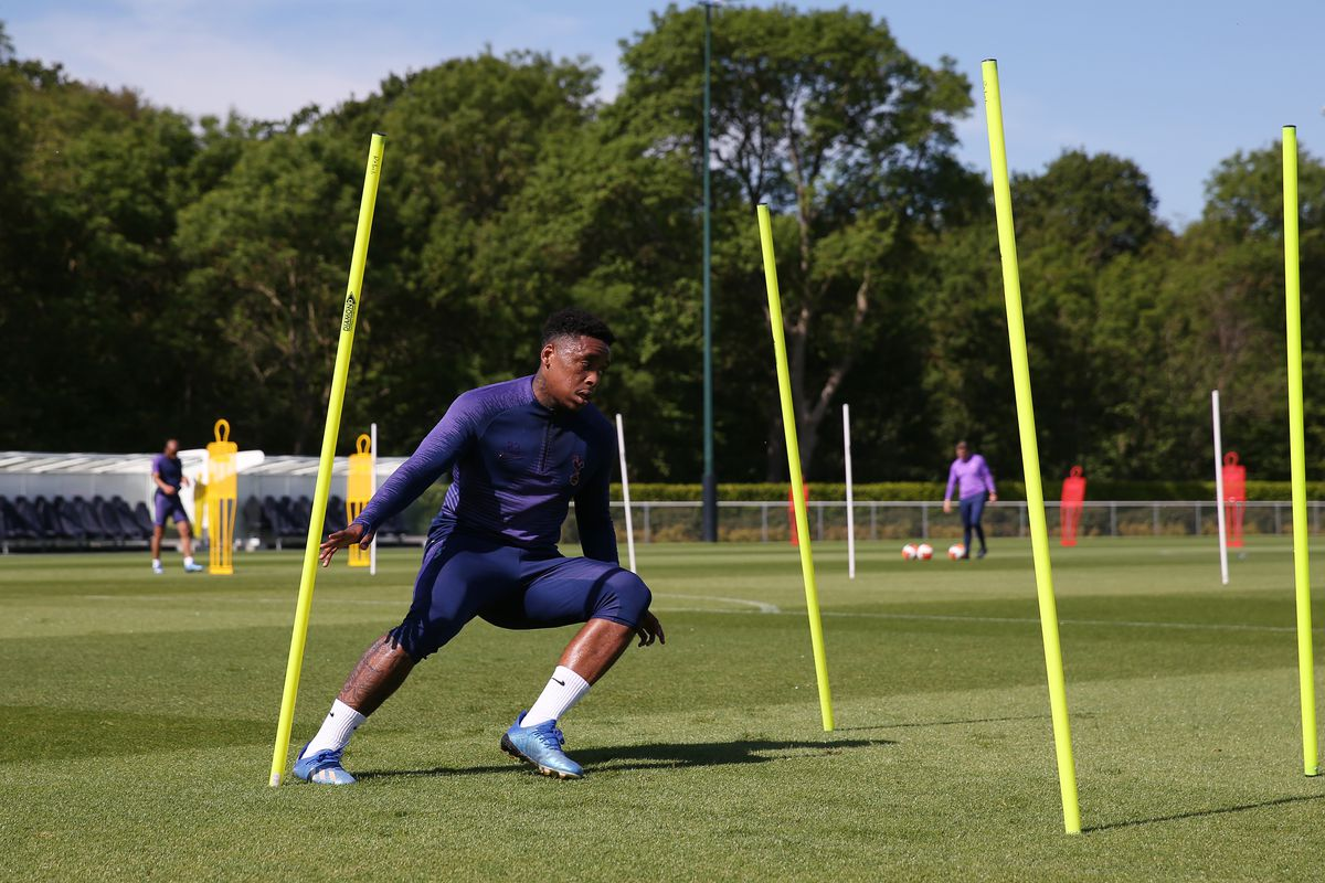 Tottenham Hotspur Return to Small Group Training Following the Relaxing of Covid-19 Restrictions