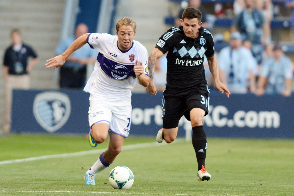 Louisville City right back Bryan Burke is excited to be reunited with his former Orlando teammate James O'Connor.