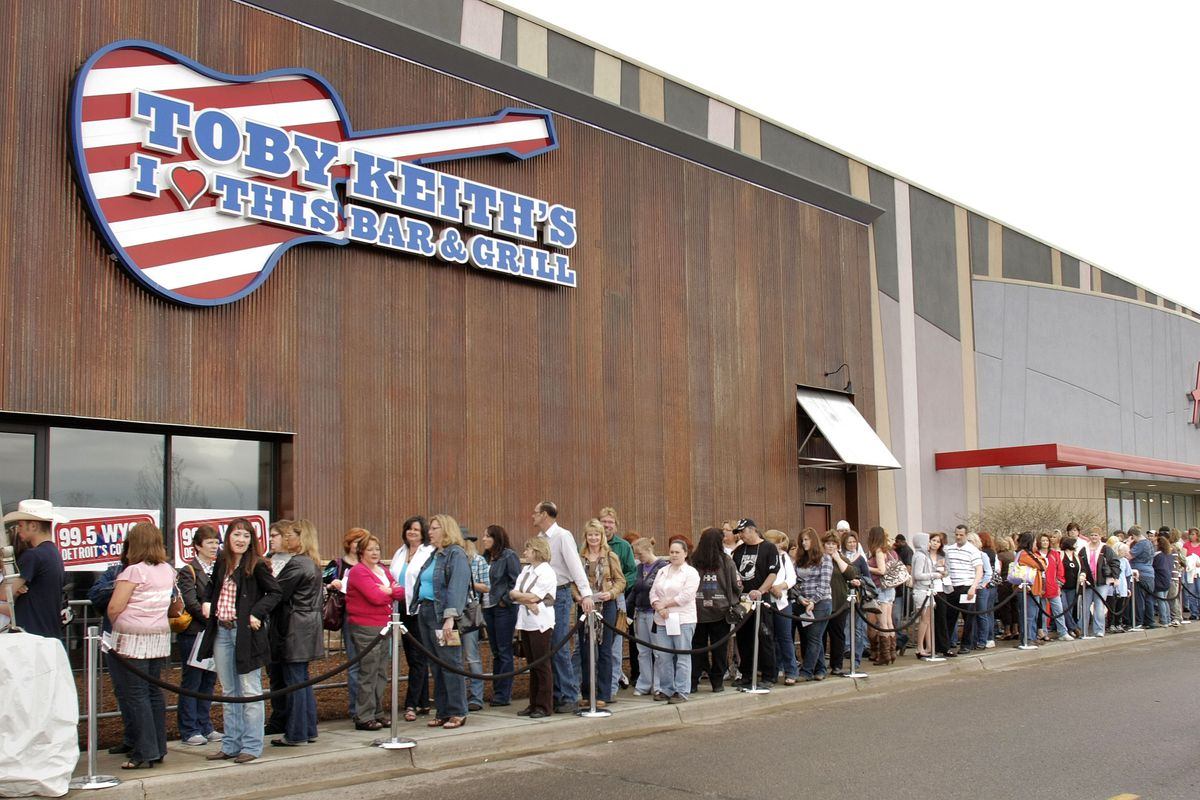 Grand Opening Press Conference For Toby Keith's I Love This Bar & Grill