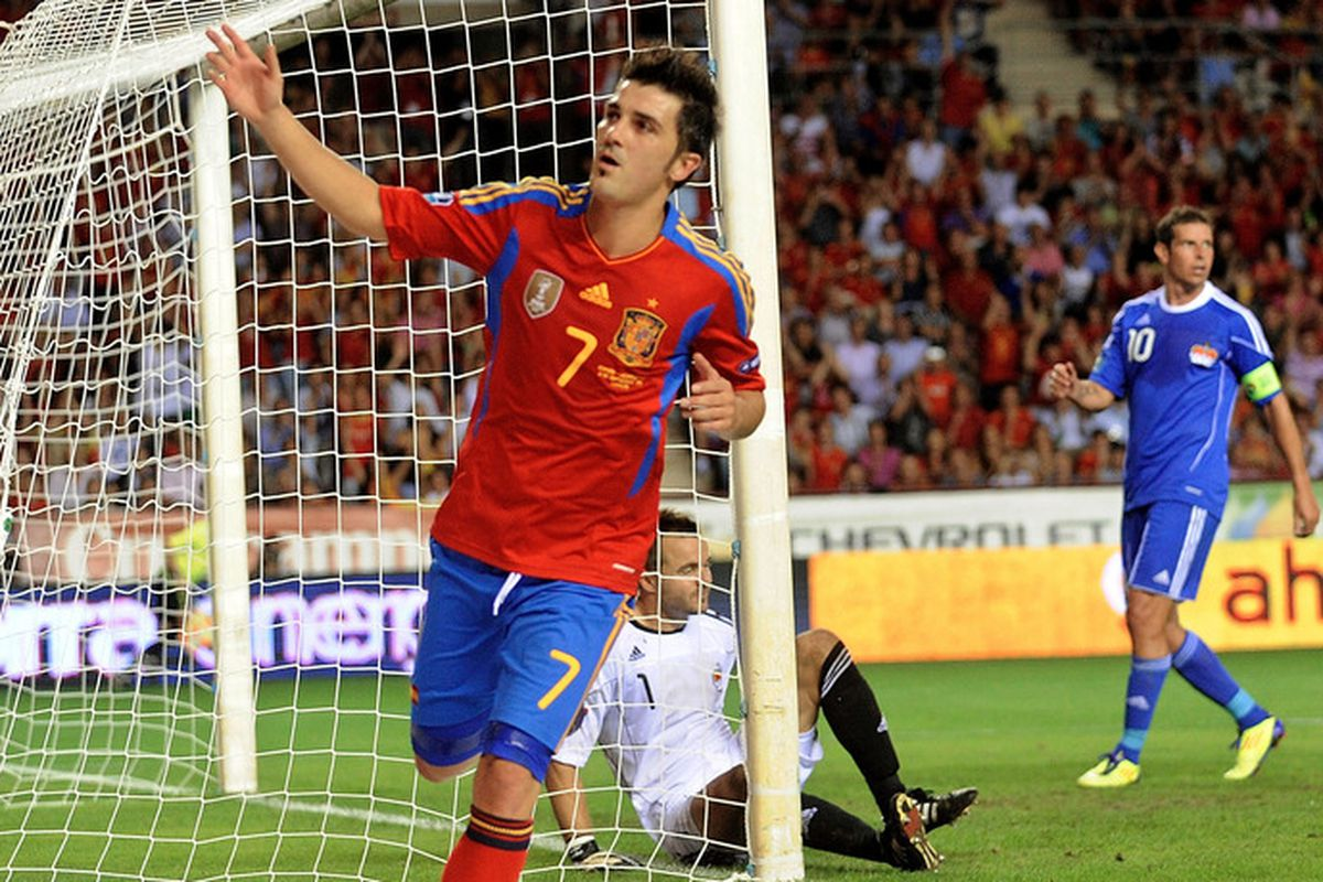 The EURO 2012 won't be the same without David Villa.