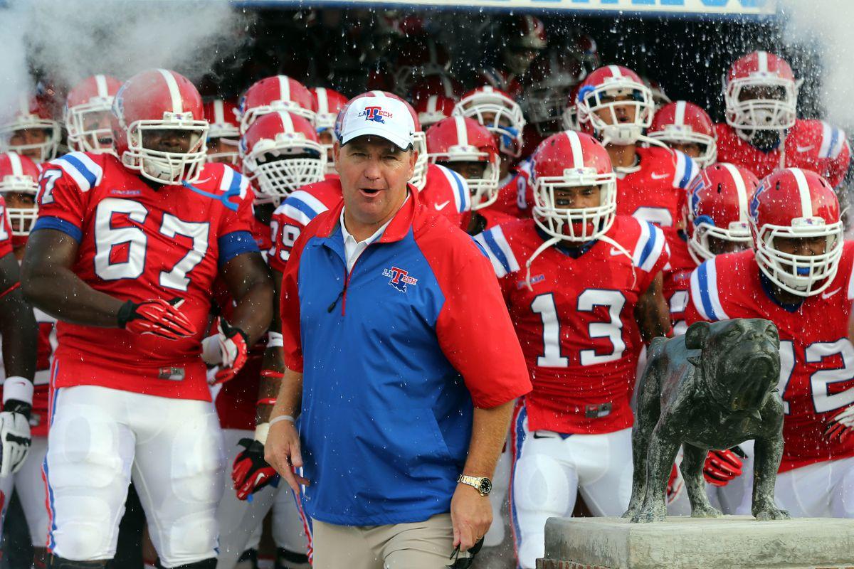 Louisiana Tech Head Coach Skip Holtz is optimistic heading into the 2014 season.