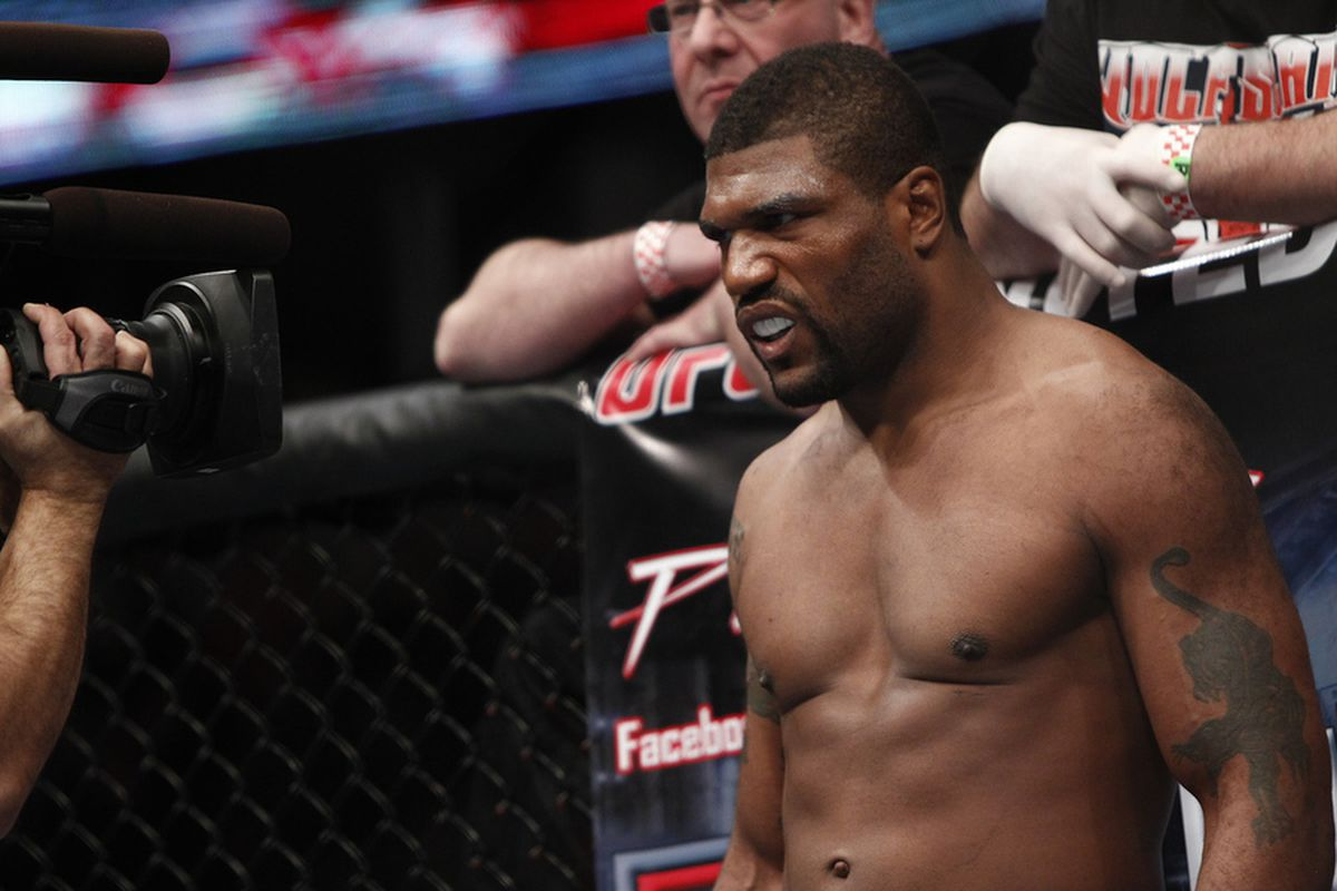 Rampage Jackson Clarifies Comments About Regretting Ever Starting