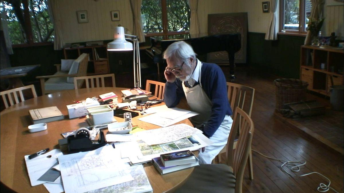hayao miyazaki in never-ending man