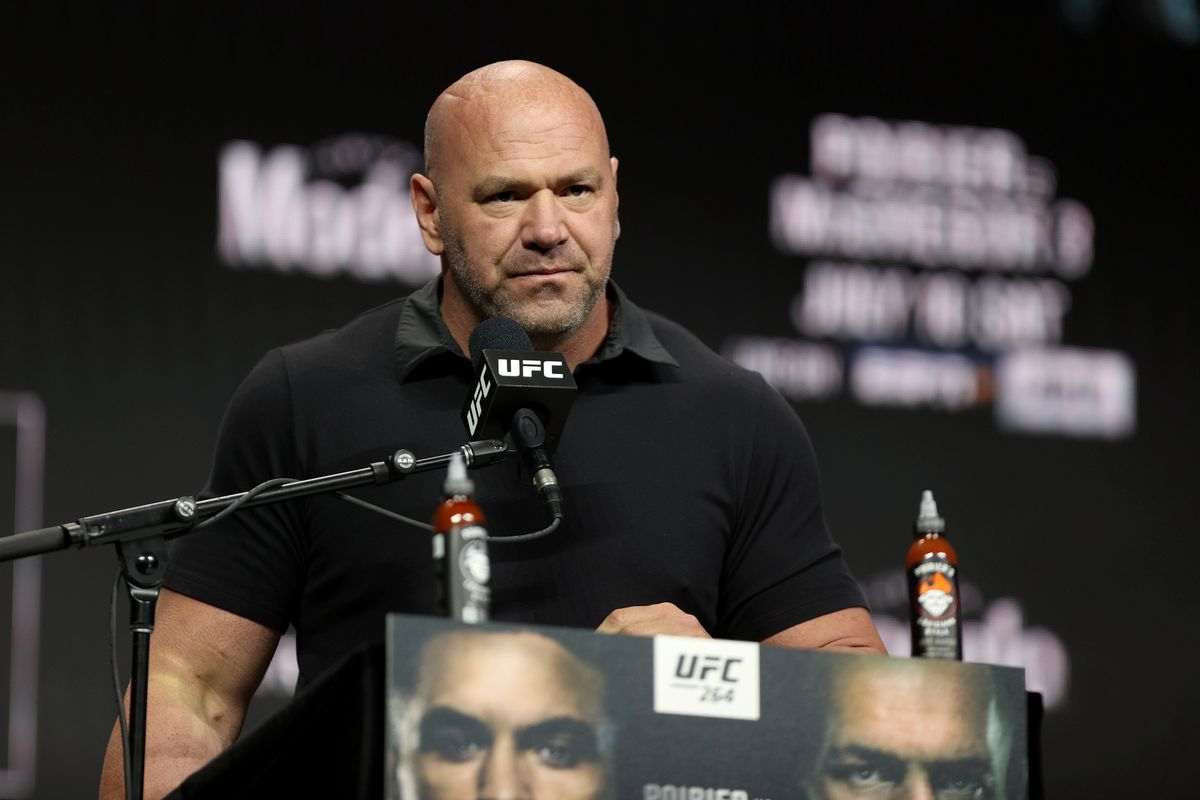 UFC 264 Press Conference Dana White