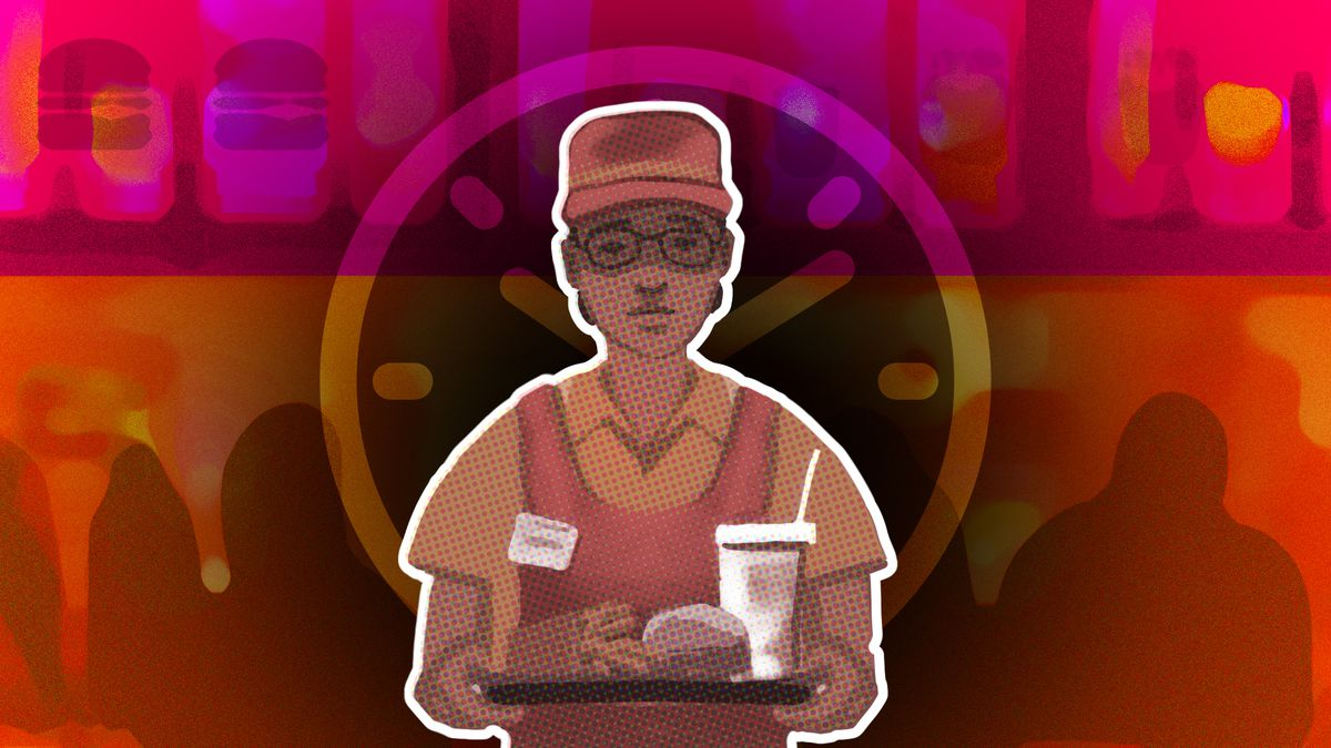 I was a fast-food worker  Let me tell you about burnout  - Vox