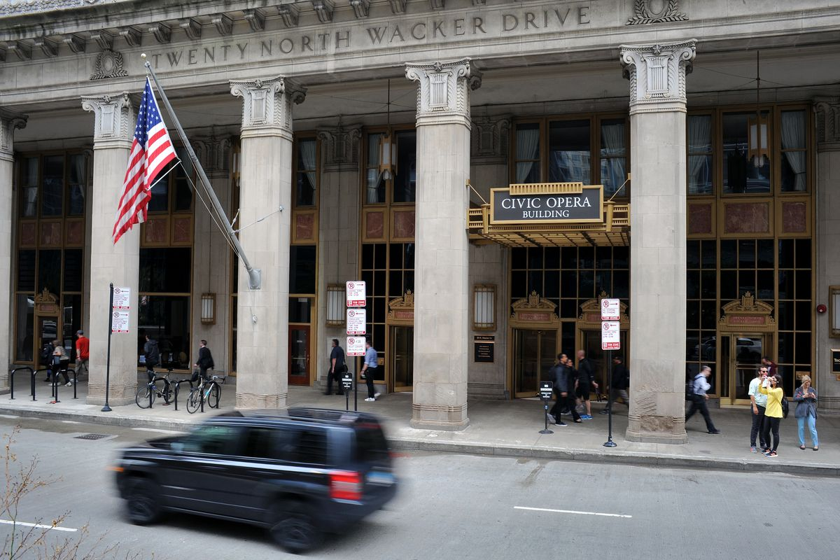 The Lyric Opera House is located at 20 N. Wacker Drive in Chicago.
