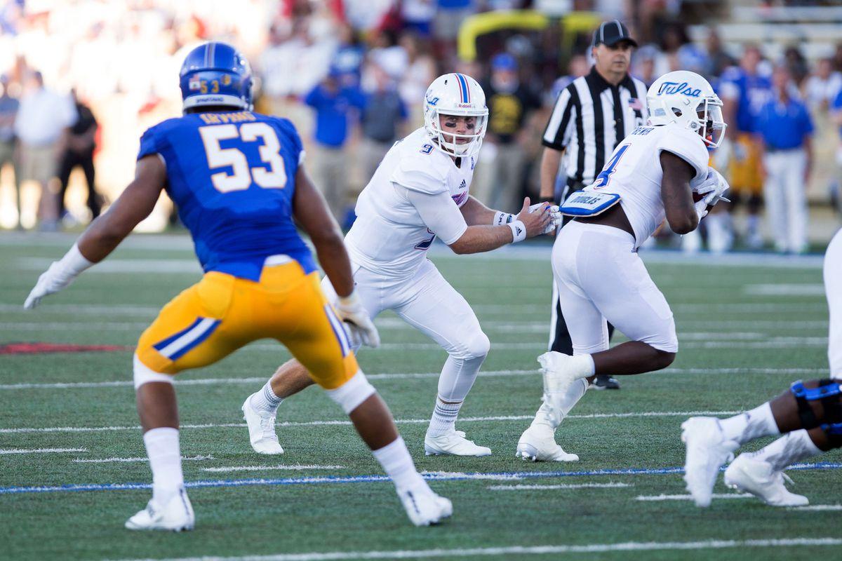 NCAA Football: San Jose State at Tulsa