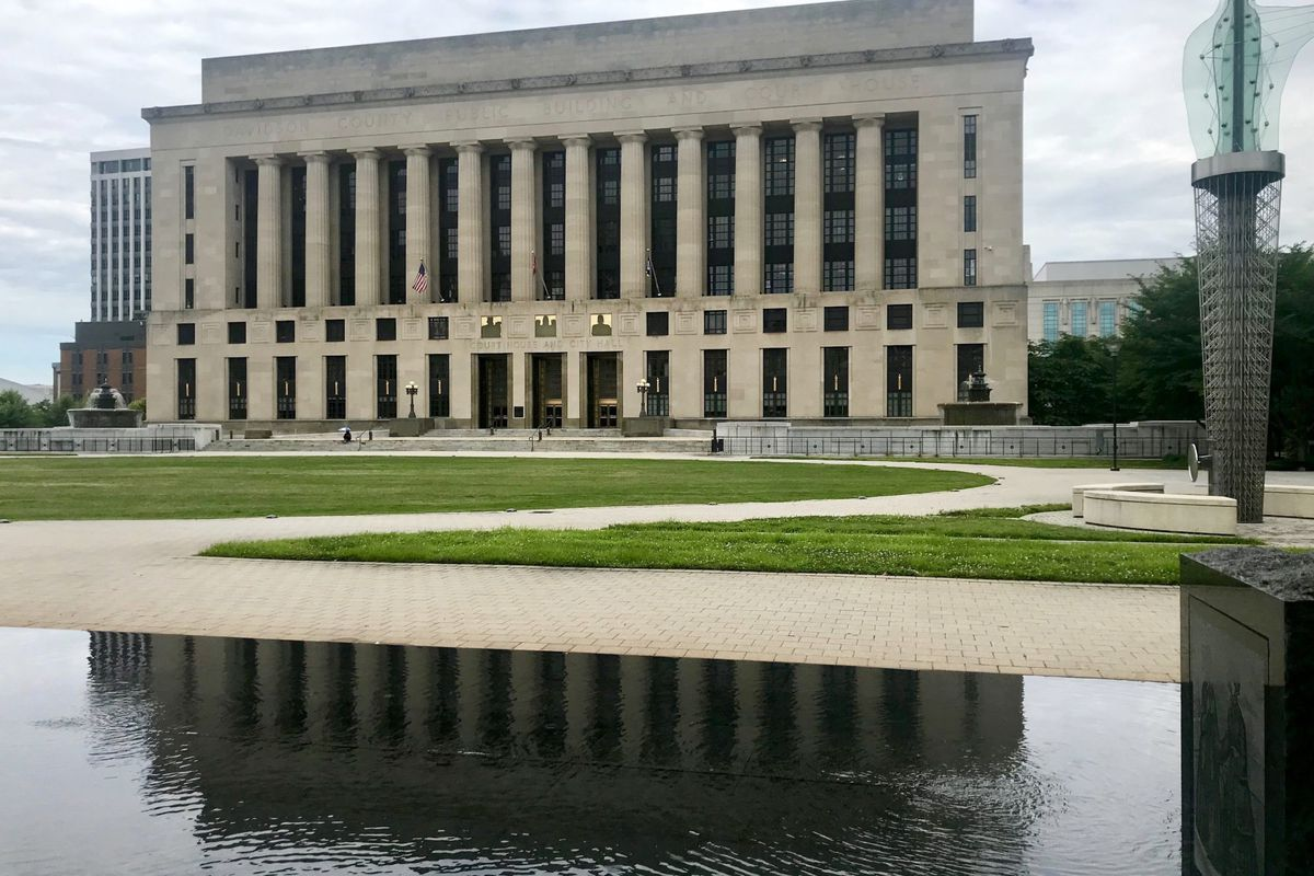 The Davidson County Courthouse in Nashville will be the hub of litigation over Tennessee's new voucher law. Lawyers for Metro Nashville filed a lawsuit Thursday that names Shelby County government as a co-plaintiff and Gov. Bill Lee as one of the defendants.