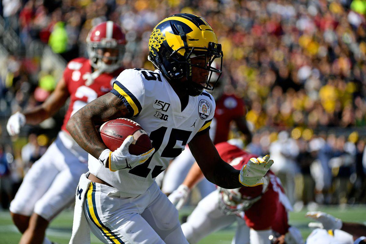 NCAA Football: Citrus Bowl-Michigan vs Alabama