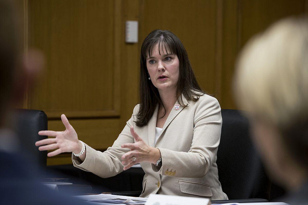 Education Commissioner Candice McQueen