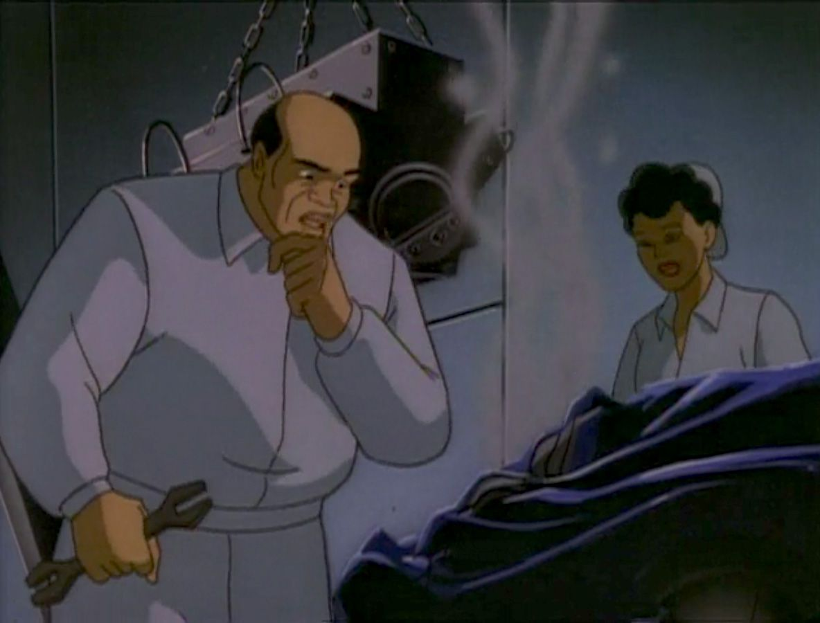 """""""The Mechanic"""" episode of Batman: The Animated Series"""