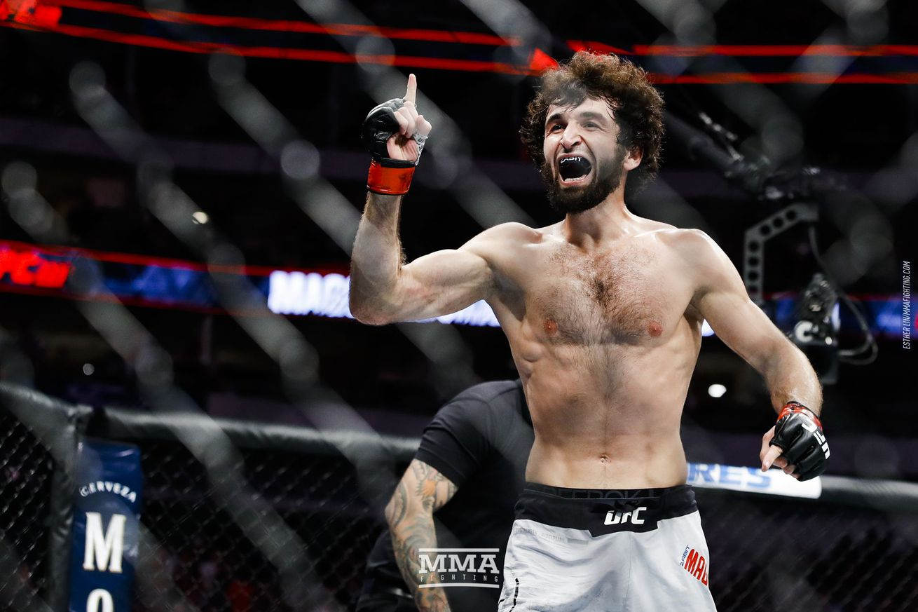 Zabit Magomedsharipov (pictured) is in talks to fight Jeremy Stephens in a featherweight bout at UFC 235 on March 2 in Las Vegas