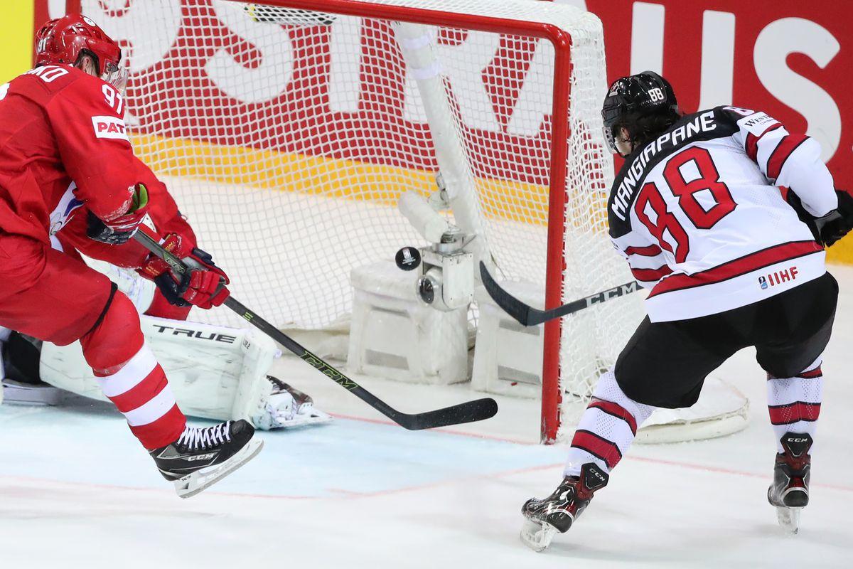 2021 IIHF World Championship, quarterfinals: Russia 1 - 2 Canada