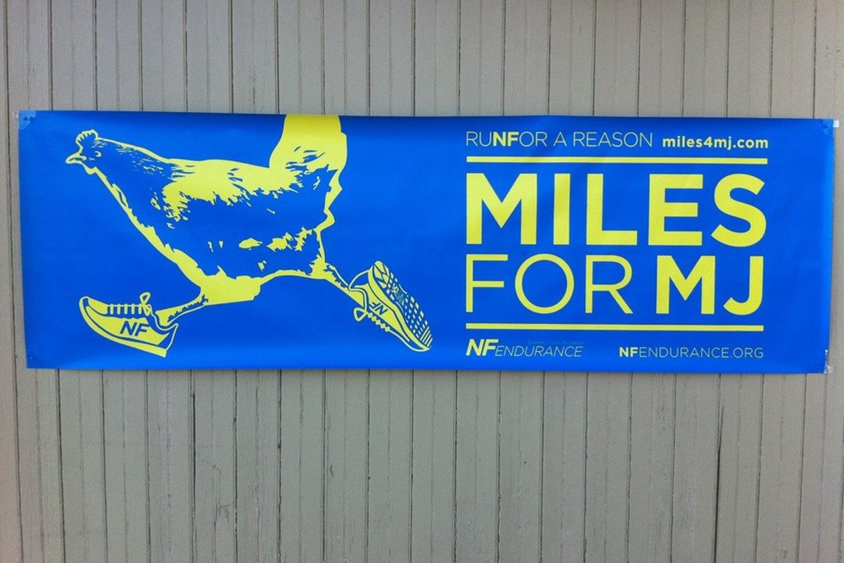 Miles for MJ.