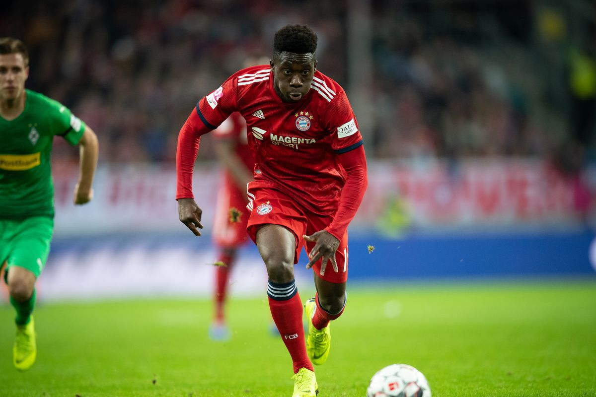 the best attitude e5a42 4f1a5 Video: Alphonso Davies talks through his first weeks with ...