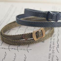 Wraparound belt bracelet, $10 each (was $20 and up)