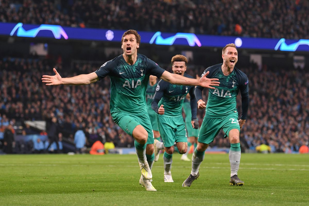 Tottenham Man City