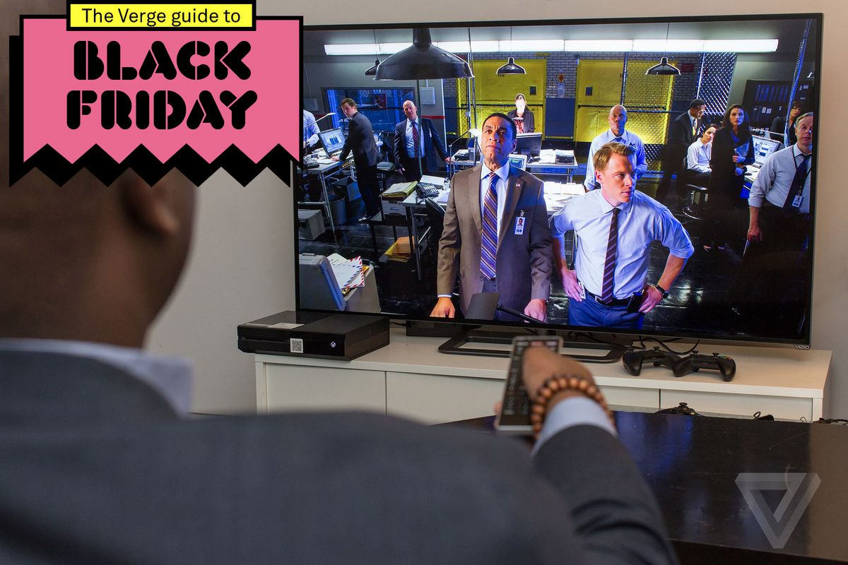 the best black friday tv deals on 4k ultra hd and smart tvs the verge. Black Bedroom Furniture Sets. Home Design Ideas