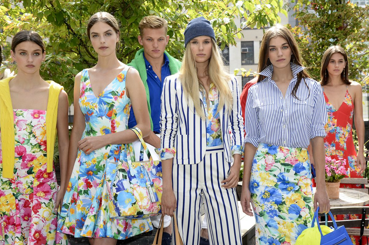 The spring 2016 Polo Ralph Lauren presentation during New York Fashion  Week. Photo  Fernanda Calfat Getty Images.