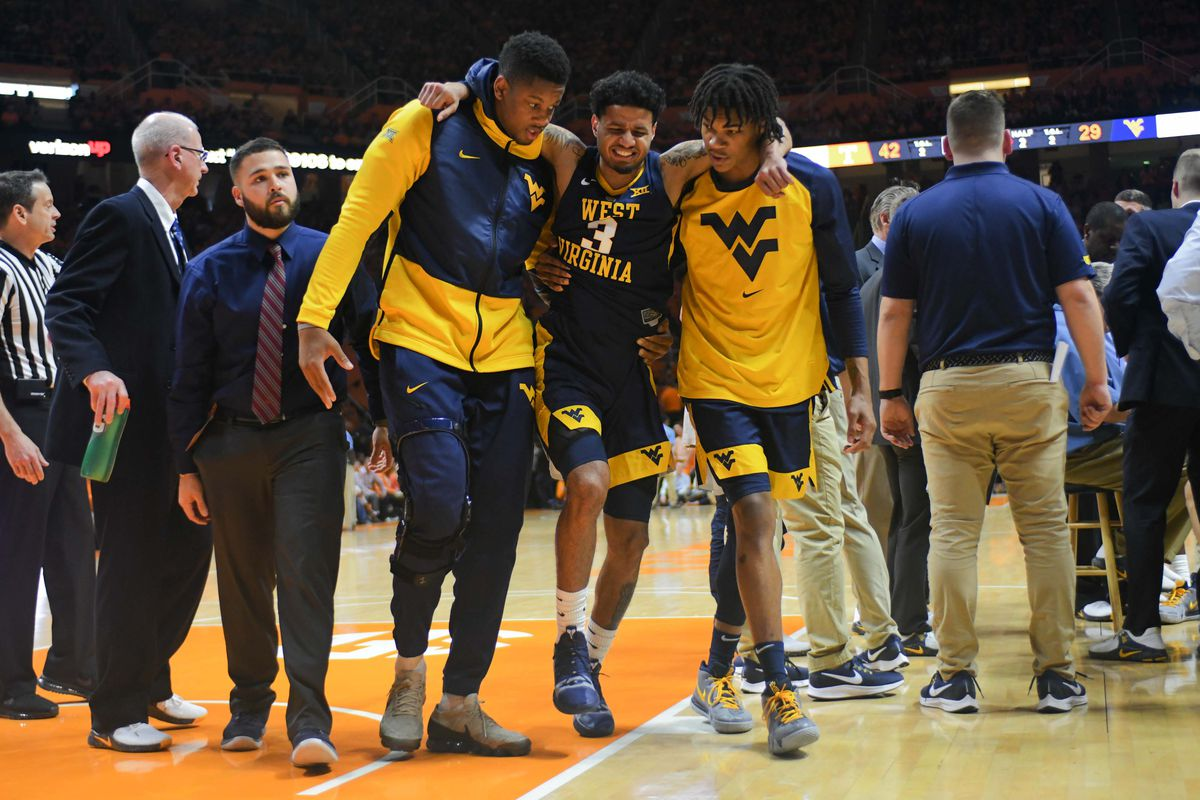 NCAA Basketball: West Virginia at Tennessee