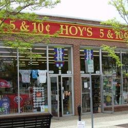 <strong>6) Hoy's 5&10:</strong><br> <em>219 96th St. Stone Harbor, N.J.; (609)368-4697</em><br>  Founded in 1935, Hoy's 5&10 now boasts four locations throughout Cape May County, but they all promise the same thing: a varied (like, really, really varie