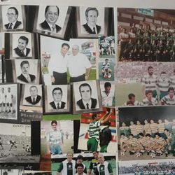 Images of soccer in La Comarca Lagunera, both past and present.