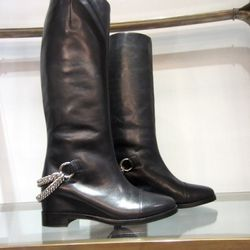 Riding boots, $575