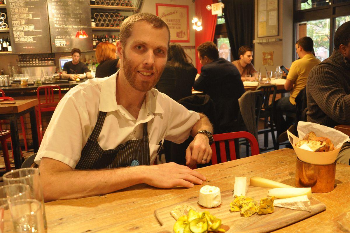 Josh Turka, executive chef at The Salty Pig