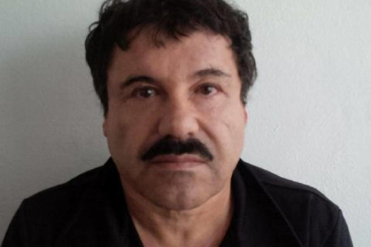 """In this image released by Mexico's Attorney General's Office, Saturday, Feb. 22, 2014, Joaquin """"El Chapo"""" Guzman is photographed against a wall after his arrest in the Pacific resort city of Mazatlan, Mexico. Federal prosecutors across the US are already"""