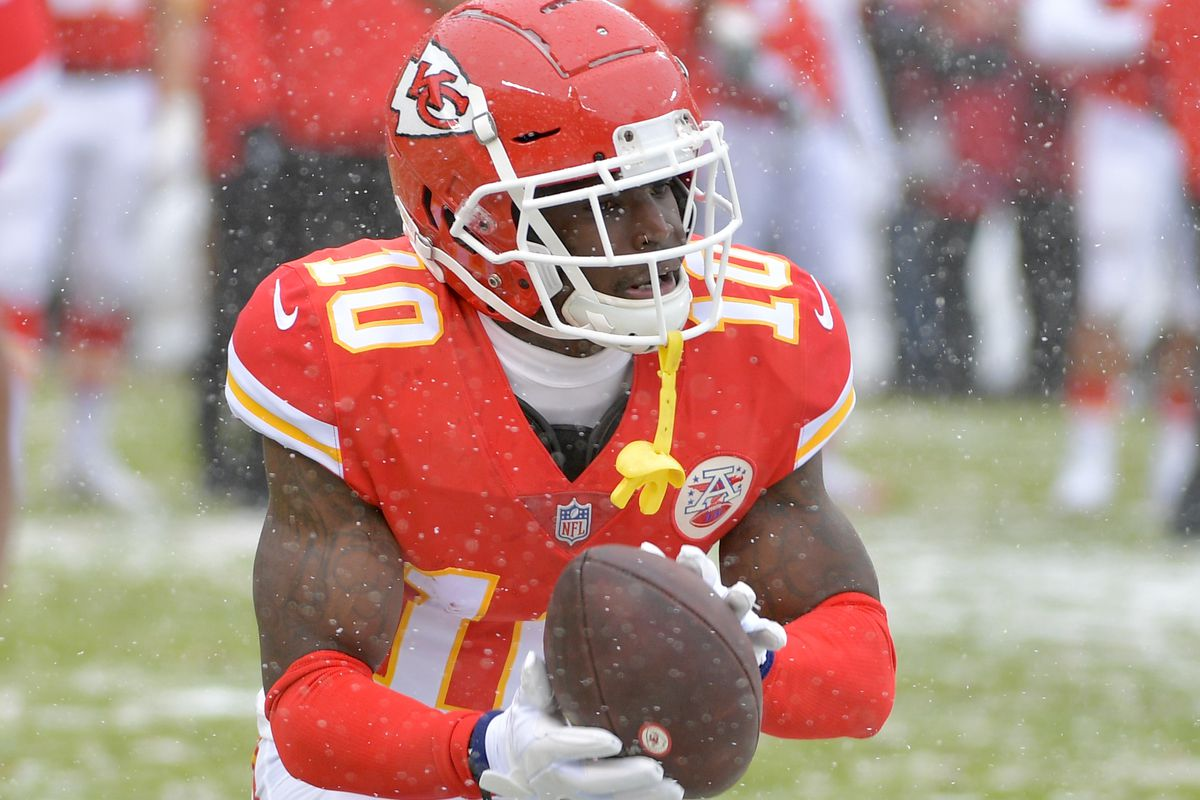 524743f2 Chiefs WR Tyreek Hill met with NFL for eight-hour interview ...