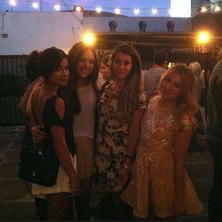 Right, Closet Rich's Elizabeth Kott with friends