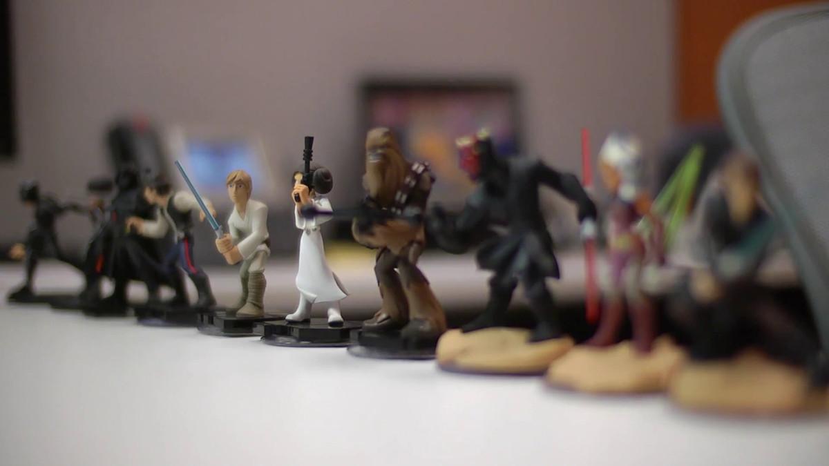 Star Wars Disney Infinity figurines