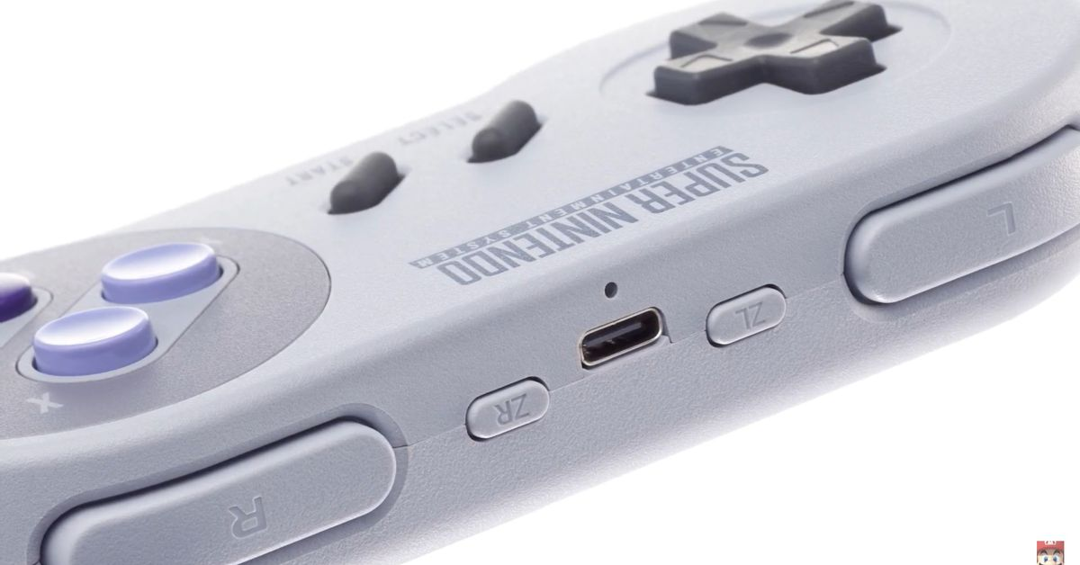 Snes controller switch 2