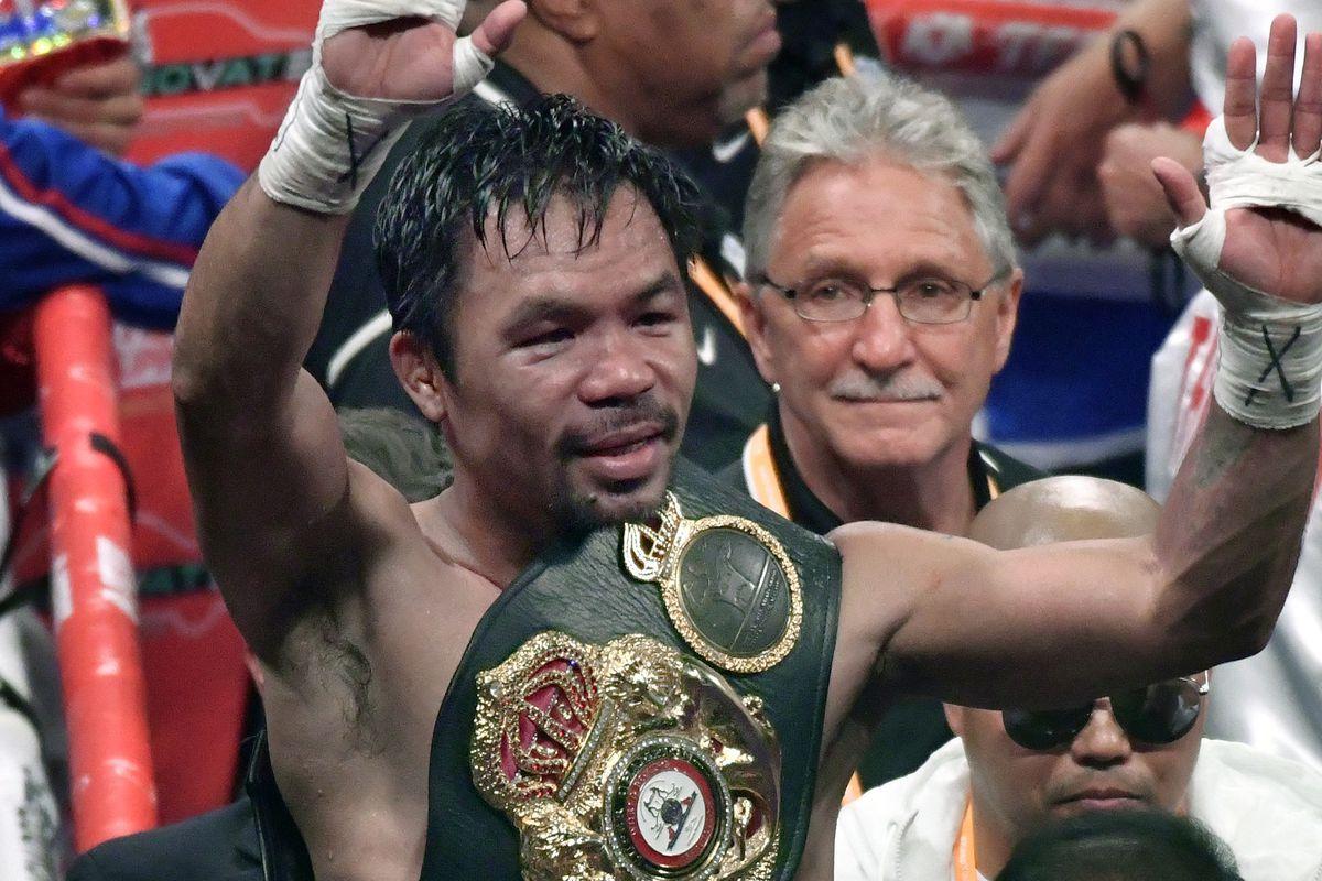 Manny Pacquiao v Keith Thurman