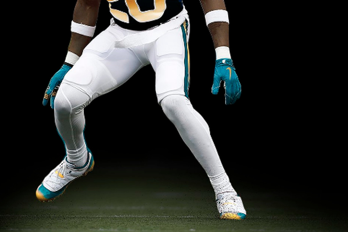 "super popular 0acb8 0baba April Fools! The Jaguars ""leaked"" their new uniforms - Big ..."