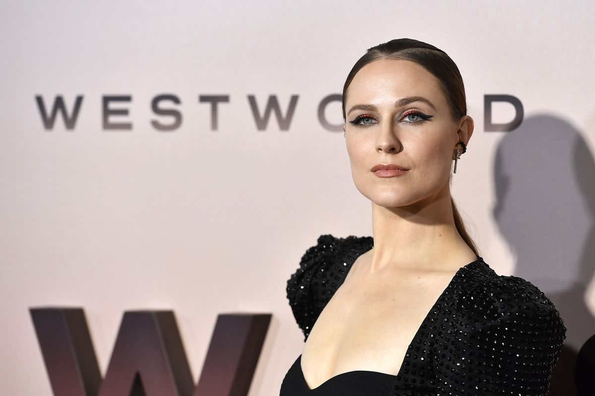 """Evan Rachel Wood attends the Premiere Of HBO's """"Westworld"""" Season 3 TCL Chinese Theatre on March 05, 2020 in Hollywood, California."""
