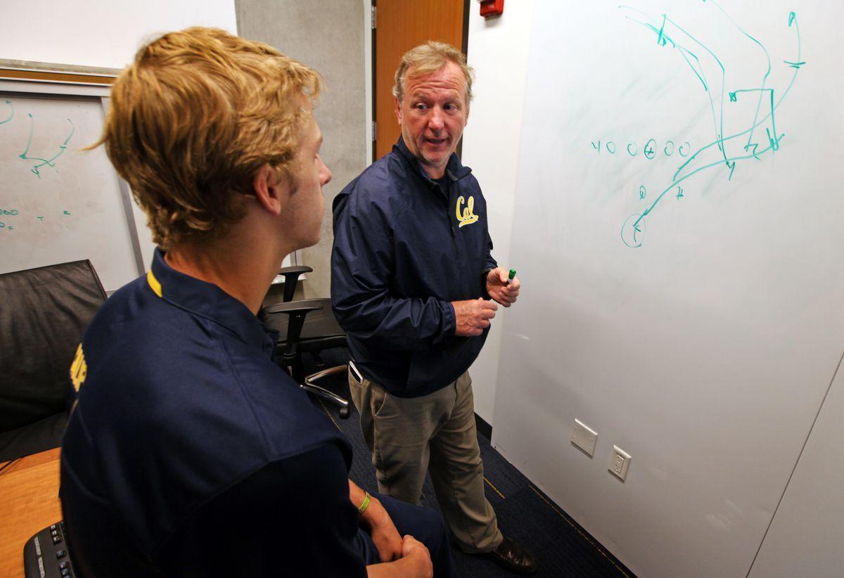 Tony Franklin Cal football's offensive coordinator