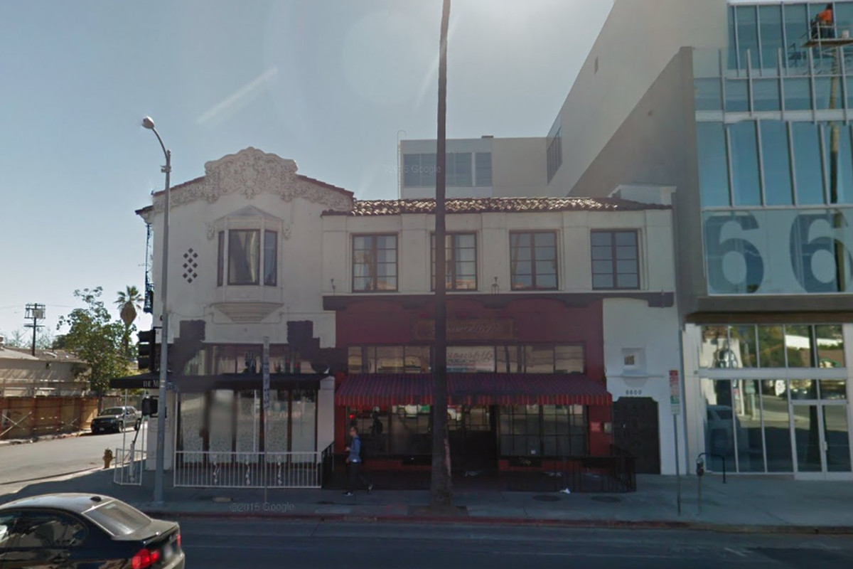 The future home of Gwen, Hollywood