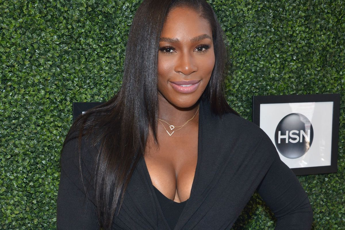 Serena Williams attends the Serena Williams Signature Statementby HSN show during Spring 2016 Style360 on September 15, 2015, in New York City.