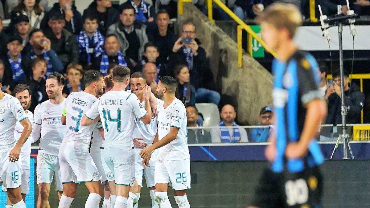Club Brugge KV v Manchester City: Group A - UEFA Champions League
