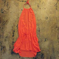 Blue Life island halter dress, $110