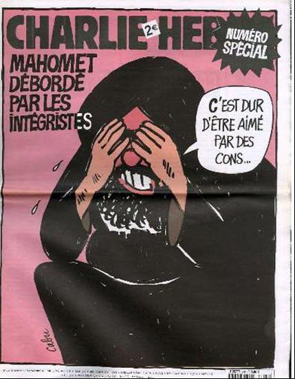 Charlie Hebdo Mohammed Overwhelmed