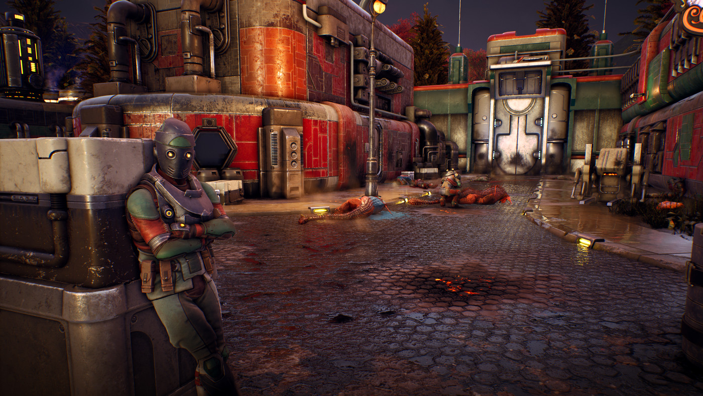 The Outer Worlds Concept Art