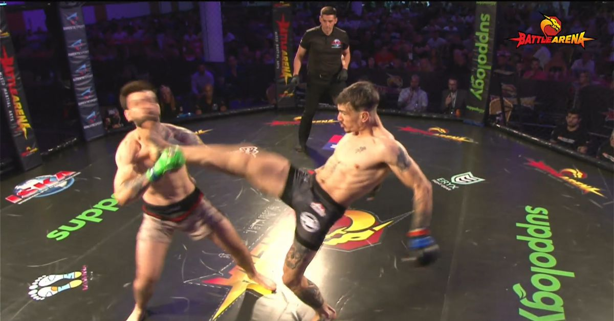 Missed Fists: Chrissy Mountford scores Knockout of the Year candidate with unbelievable front kick to the face, more