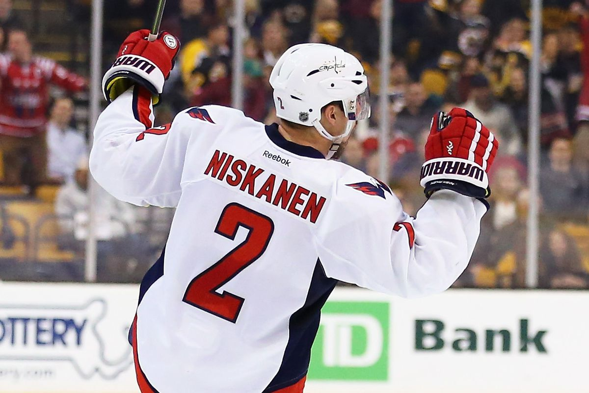 Matt Niskanen wears #2 for the Capitals, who are #1 in the Metropolitan...and the East...and the league.