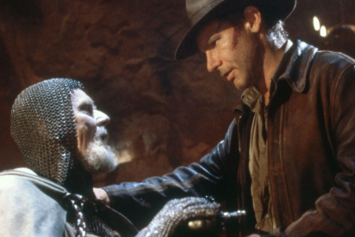 """On the Set of """"Indiana Jones and the Last Crusade"""""""